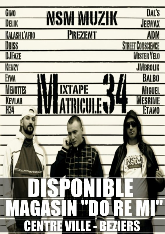MIXTAPE MATRICULE 34