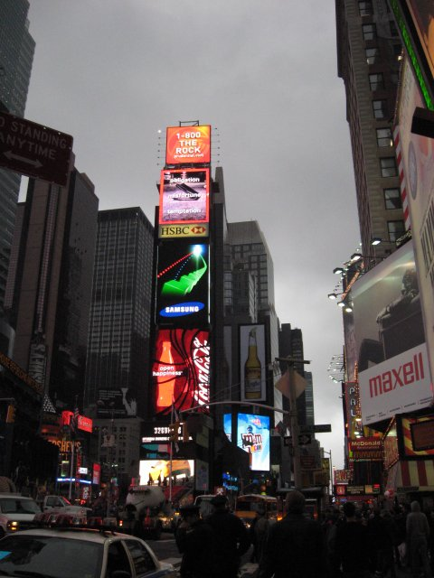 4 eme voyage New York City : photo par moi