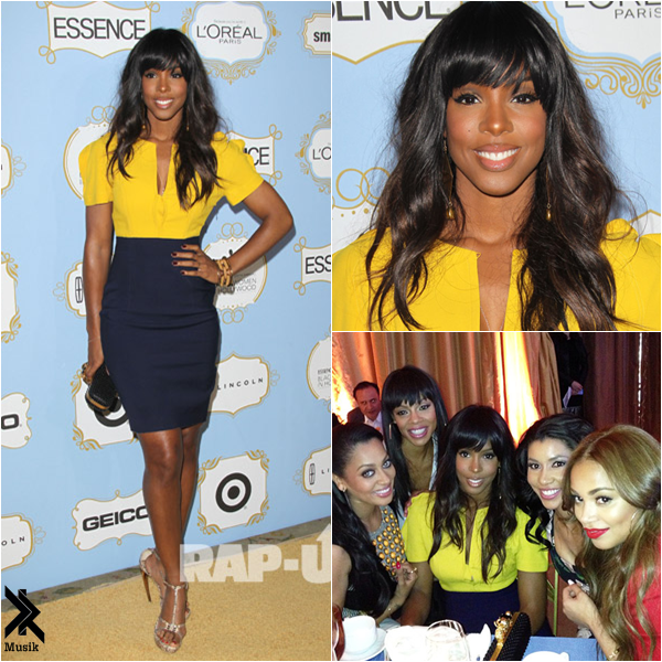 Kelly Rowland Red Carpet The Oscar