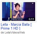 [07/04/09] Leïla - Prime N°1 : Marcia Baïla  < Facebook | Youtube | Myspace | Twitter Fans | Noomiz | Forum >