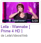 [28/04/09] Leïla - Prime N°4 : Wannabe  < Facebook | Youtube | Myspace | Twitter Fans | Noomiz | Forum >