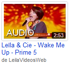 [05/05/09] Leïla - Prime N°5 : Frozen < Facebook | Youtube | Myspace | Twitter Fans | Noomiz | Forum >