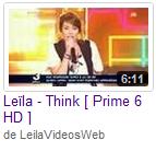 [12/05/09] Leïla - Prime N°6 : Parle Plus Bas & Think < Facebook | Youtube | Myspace | Twitter Fans | Noomiz | Forum >