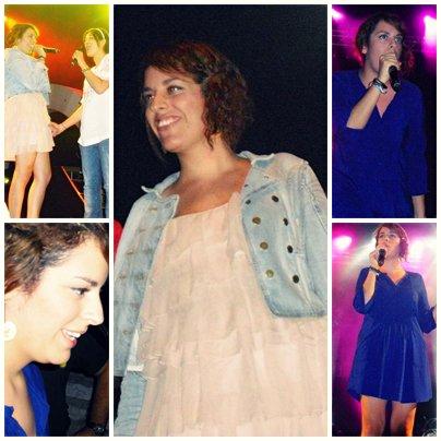 [24/08/09] Leïla en concert à Nice lors de la Tournée Nouvelle Star 2009 < Facebook | Youtube | Myspace | Twitter Fans | Noomiz | Forum >