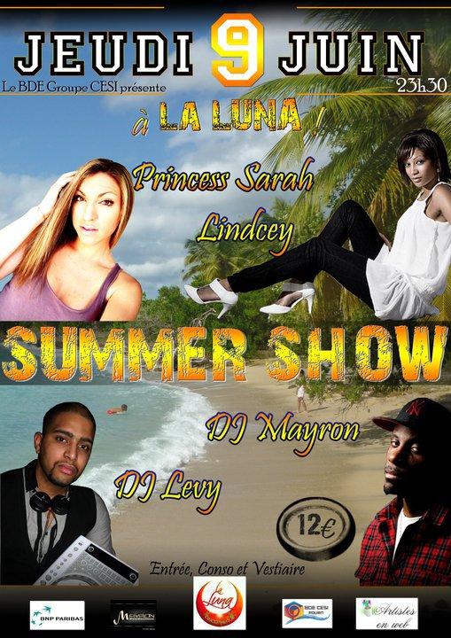 LE SUMMER SHOW @ LA LUNA DE ROUEN LE 9 JUIN 2011