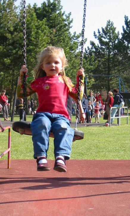Les enfants grandissent si vite! (sur la photo c'est moi quand j'étais petite!)