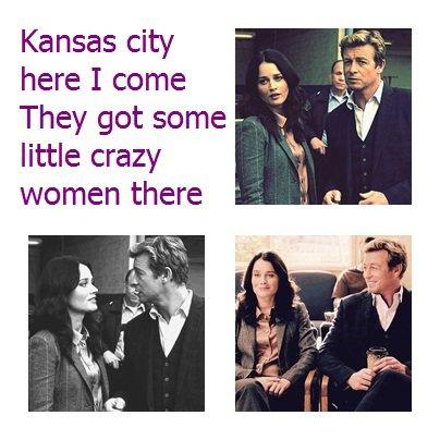 Teresa Lisbon and Patrick Jane - Kansas City (song) [TM 5x17]