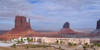 Hôtel à Monument Valley, Arizona