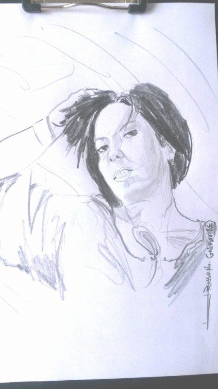 croquis / portrait