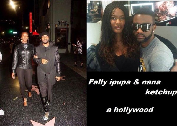 Couple ipupa UN tour a Hollywood