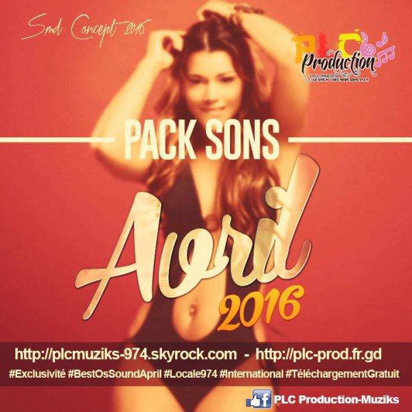 ★ Pack Sons Avril 2016 By PLC Production-Muziks ♪ ★