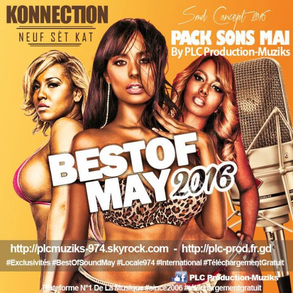 ★ Pack Sons Mai 2016 By PLC Production-Muziks ♪ ★