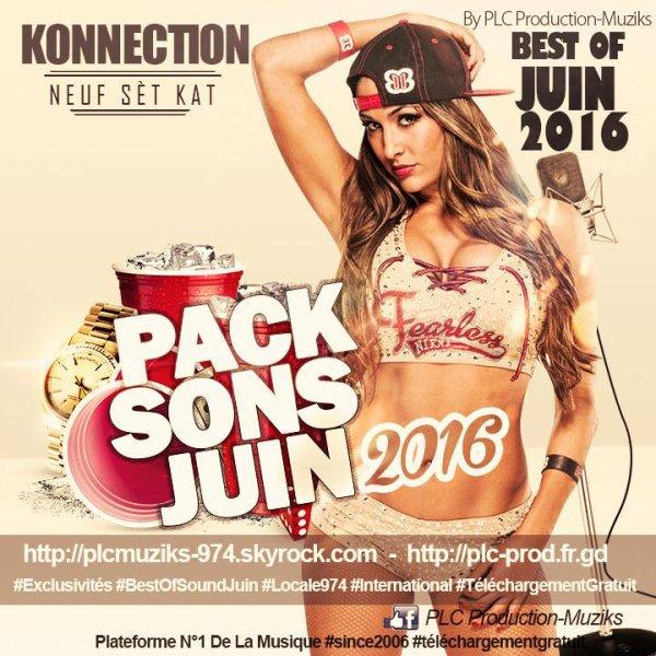 ★ Pack Sons Juin 2016 By PLC Production-Muziks ♪ ★