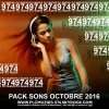 Pack Sons Octobre 2016 - By PLC Muziks 974 !