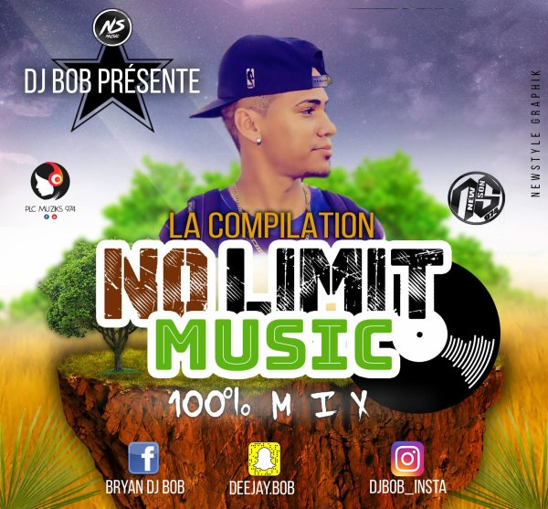 DJ BOB - NO LIMIT MUSIC 100% MIX (COMPILE 2017)