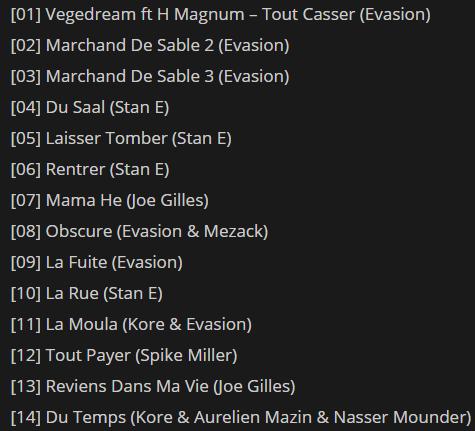 Vegedream - Marchand De Sable (Album 2018) - Exclusivité PLC Muziks 974 !