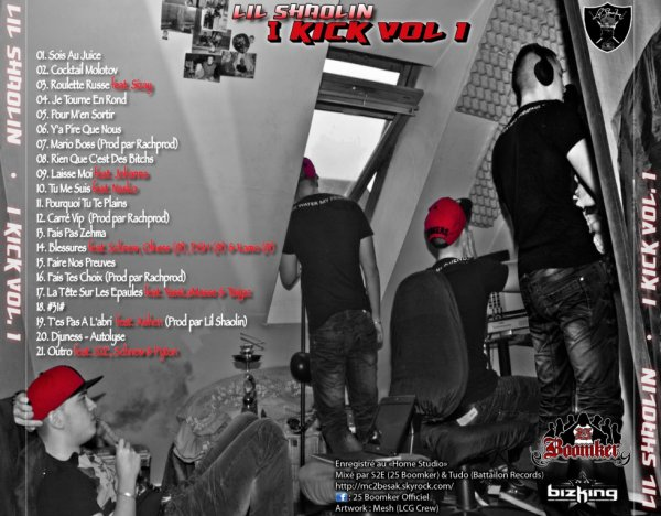 "La tracklist de ""I Kick Vol.1"" enfin disponible !"