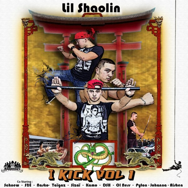 """I KICK VOL.1"" ENFIN DISPONIBLE !!!!!"