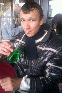 Moi avec un verre de menthe
