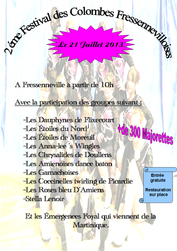 festival 21 juillet 2013