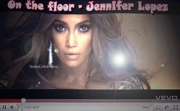 Jennifer Lopez : son nouveau clip On The Floor est arrivé !