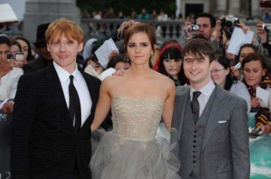 Rires et larmes à la première de Harry Potter.