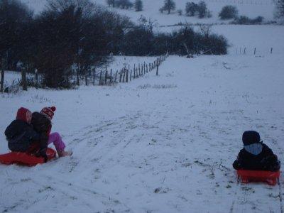 Vive la neige pour petits...