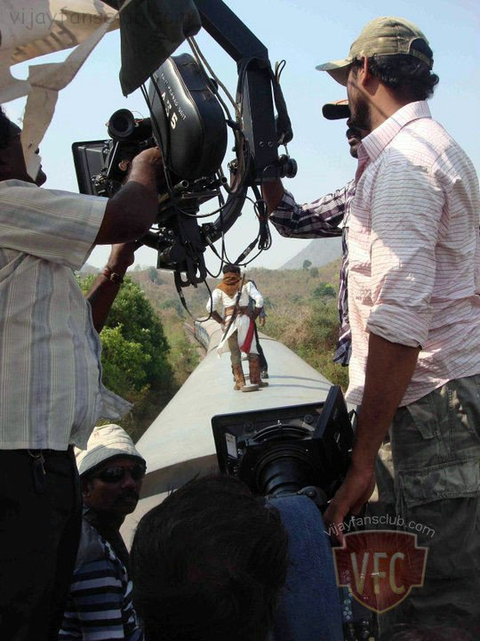 Shooting Of Velayutham