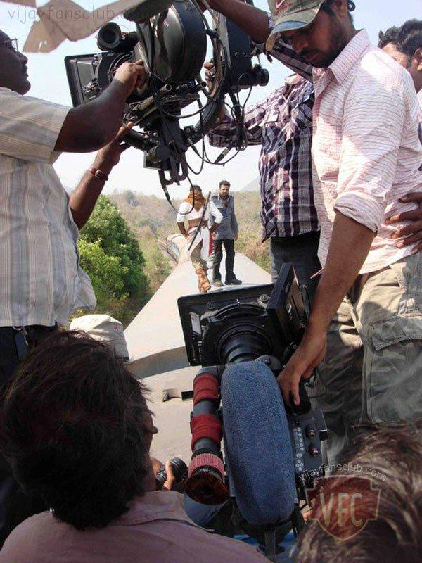 Shooting Of Velayutham