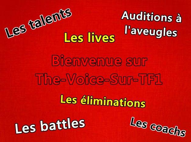 Bienvenue sur The-Voice-Sur-TF1