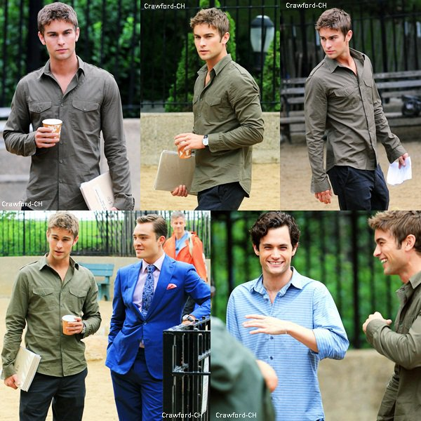 Source Chace Crawford : Crawford-CH  Gossip Girl.   Article o2