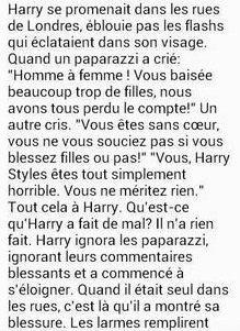 Harry qui pleure :'( ♡