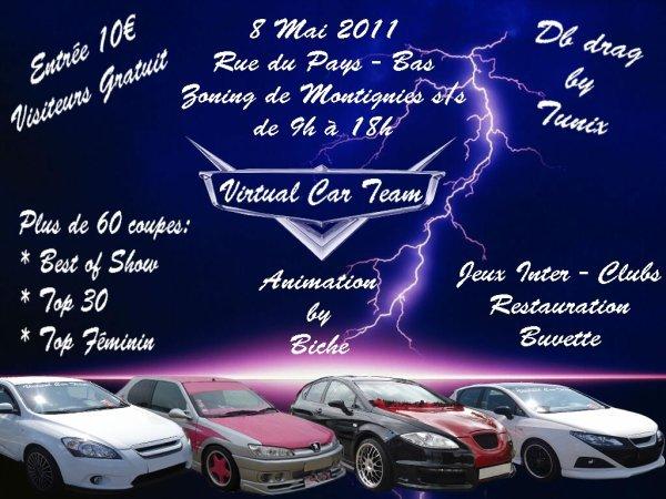 pub pour le meeting du virtual car team du 22  mai 2011