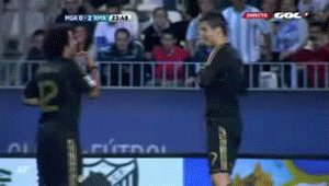 cristiano and marcelo dance ;)
