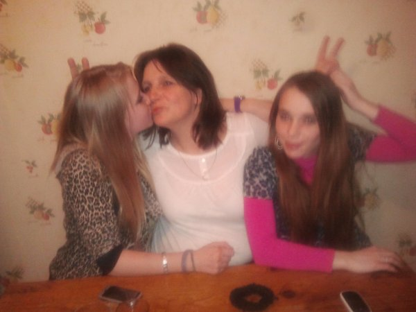 Me , My Mom , And My Sister
