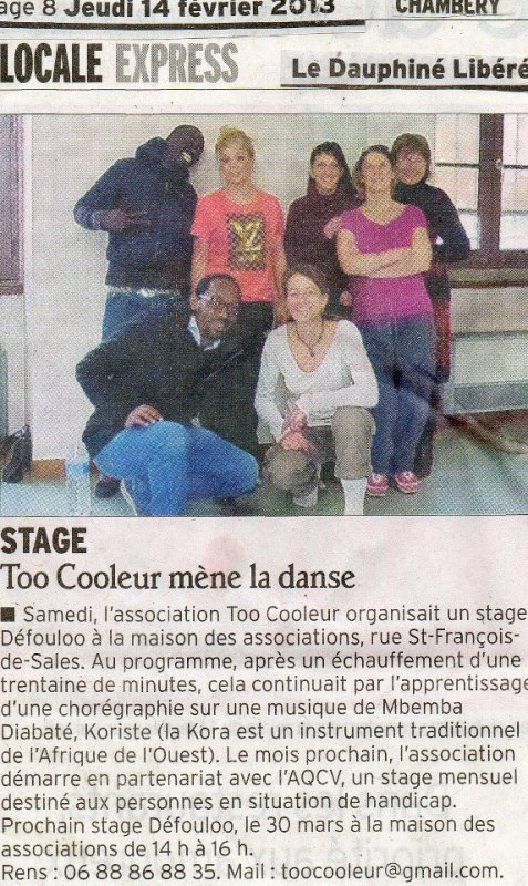 Too Cooleur : Osez danser !