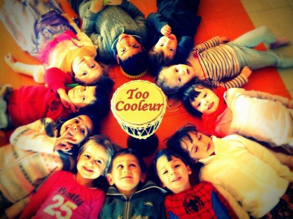 Cours de danse avec les enfants de pontcharra avec Rachou & Kamille B