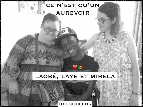 Abdoulaye Seydi,  Sophie Laobé et Mirela Question