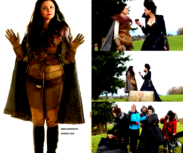 STILLS+SET| 3 STILLS DE L'EPISODE 1X21 DE ONCE UPON A TIME ONT FAIT LEUR APPARITION SUR LE WEB, AVEC EN PLUS UNE PHOTO DU SET, AVEC LANA PARRILLA (REGINA/EVIL QUEEN)  INSTAGRAM|GINNY A PUBLIEE UNE PHOTO SUR SON TWITTER AVEC SON COMPTE INSTAGRAM