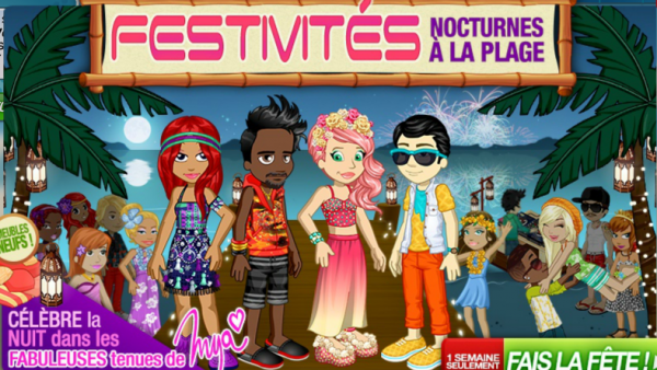 Nouvelle collection Fête nocturne sur woozworld