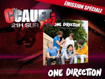 one direction chez Cauet le 11 octobre 2012