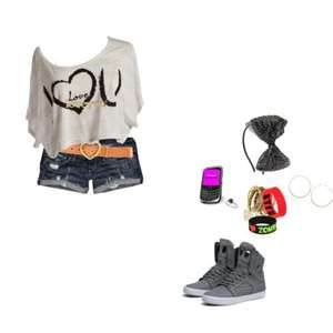 tenues pour rester swag (fille)
