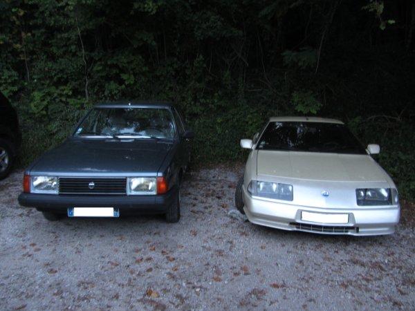 D501 1989 ( de mon père) et ma 1510 GL 1982
