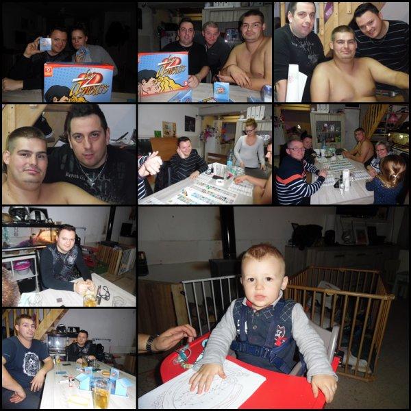Jordan et sa petite famille