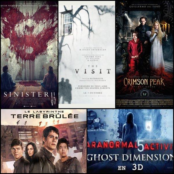 les derniers films que nous sommes aller voir au cinéma