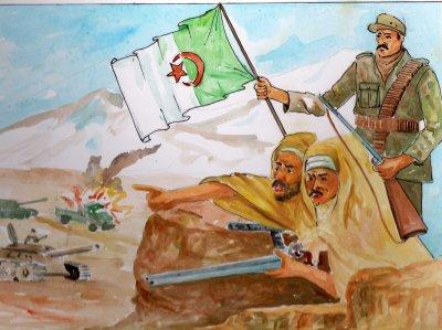 one,two,three   Viva l'Algerie
