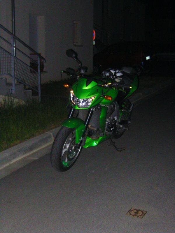 La moto de mon frere