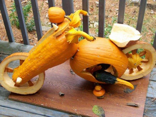 Joyeux Halloween a tous les motards et motardes .