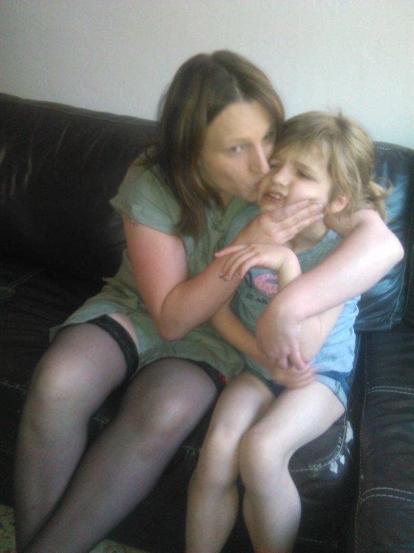 ma femme et ma filles