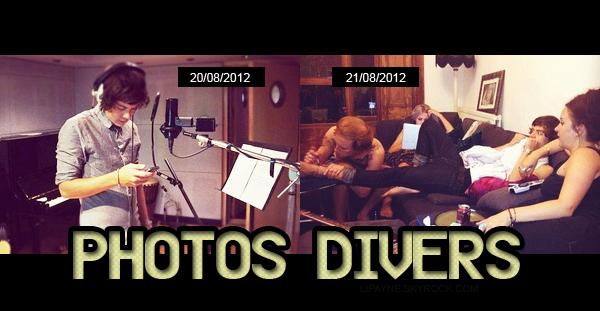 .  AUGUST, 22 : Liam, Louis & Niall ont été vus à l'extérieur d'un studio, aujourd'hui.    Niall tenait la photo d'un photoshoot !  (clique)__La nouvelle coupe de Louis lui va très bien! ____ .